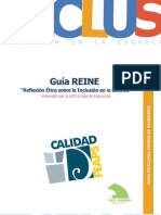 Guia REINE - Reflexión ética sobre la inclusión en la escuela