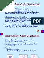 Intermediate Code Generation