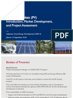 5. USAID-ICED II_Solar PV Introduction, Market, Project Assessment_180913 BK_v2