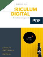 Curriculum Digital tips - Doña Lorenza