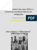 02 - Cinema brasileiro dos anos 1920, Humberto Mauro e Mário Peixoto