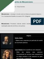 Mecanicismo - Descartes