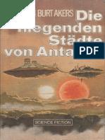 Akers, Alan Burt - Dray Prescot Saga 11 - Die fliegenden Städte von Antares (D 182)