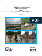 Flood and Drought Mitigation Studies