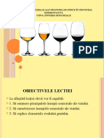 Vinul - Insusiri senzoriale