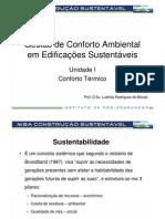 7 - Conforto Ambiental em Edificações Sustentáveis - Construção Sustentável_UI_Conforto Térmico_Goiânia