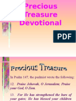 Precious Treasure (Devotional)
