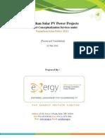 Rajasthan Solar Policy 2011