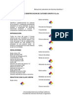 Separación e Identificación_Cationes Gpo. II Cu-As
