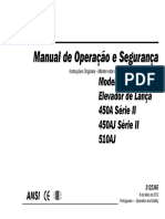 Manual de Operação e Segurança - 450AJ Diesel