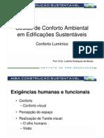 7 - Conforto Ambiental em Edificações Sustentáveis - Construção Sustentável_UIV_Conforto Lumínico_Goiânia
