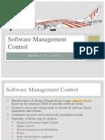 EASA Part 66 Module 5 Software Management Control