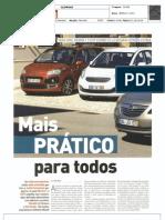 Kia Venga em Comparativo na AutoFoco