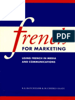 French for Marketing