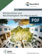 DGfM_FL_Kliamschutz Und Nachhaltigkeit Mit Mauerwerk