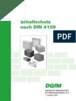 DGfM_Schallschutz Nach DIN 4109