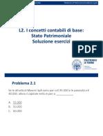 L2. Stato Patrimoniale_principi_2020 esercizi