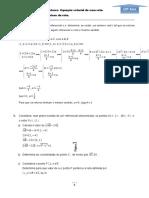 Ficha 2 - Equação da reta - 10º ano