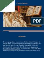 Il Canto Gregoriano