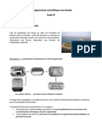 BAC - évaluation commune (ex-E3C) - Sujet et corrigé d'enseignement scientifique - niveau terminale générale n°2