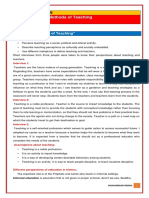 EDU301 General Methods of Teaching (HANDOUTS)