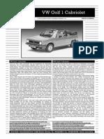 Revell VW Cabriolet