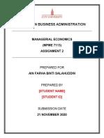 MPME7113 Asignment 2 202009