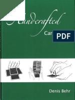 Denis Behr - Handcrafted Card Magic [Vol 3]