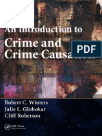An Introduction to Crime and Crime Causation-CRC Press (2014)