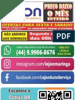 Ofertas Lejon Validas Sexta,Sabado 21a23 Jan 2021 S T