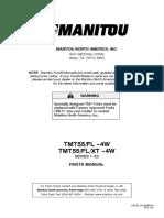 TMT55 FL - XT --4W  Parts Manual
