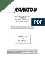 TMT55-51900011 Parts Manual
