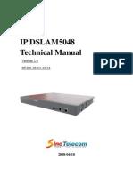 Technical Manual of DSLAM5048 sv2.0