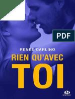 eBook Renee Carlino-rien Qu Avec Toi