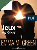 eBook Jeux Insolents Lintegrale Emma Green