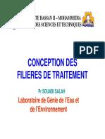 CONCEPTION DES FIL. DE TRAIT.