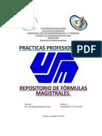 Repositorio de Fórmulas Magistrales