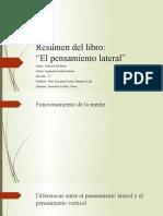 Resumen del libro_El pensamiento lateral