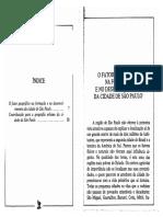 A cidade de São Paulo Geografia - Caio Prado Junior