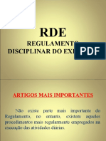 Instrução RDE - CH QAO Power Point