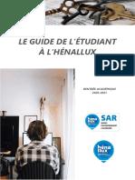 Henallux Cc Guide Etudiant 2020-2021