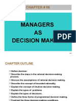 Chapter 006 Decision making