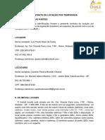 Contrato de Locação Por Temporada Caroline 05-07-02-2021