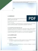 AMBROZEWICZ, Paulo Laporte. Materiais de Construção - Cap. IV