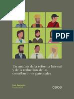 Becaria, luis; Un análisis de la reforma laboral