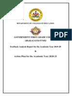 2019-20 FB report and AP