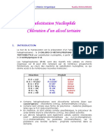 9-chloration-d-un-alcool-tertiare