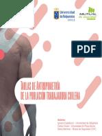 Tablas de Antropometria de La Poblacion Trabajadora Chilena