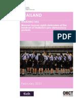 Rapport Thailande2021