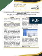 A INFLUÊNCIA DO USO DE ADITIVOS NA RESISTÊNCIA A COMPRESSÃO DE CONCRETOS CLASSE C30